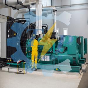 Di dời và nâng cấp hệ thống máy phát điện